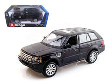 Range Rover Sport BBURAGO Diecast 1:18 Scale Black