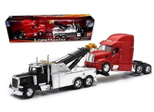 Peterbilt Model 379 Tow Truck and Peterbilt Model 387 Cab NEWRAY Diecast 1:32