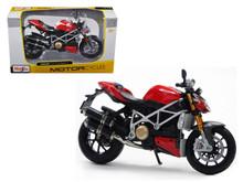Ducati mod. Streetfighter MAISTO Diecast 1:12 Scale Motorcycle