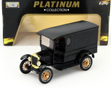 1925 Ford Model T Paddy Wagon MOTORMAX PLATINUM Diecast 1:24 Scale FREE SHIPPING