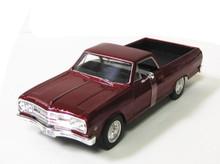 1965 Chevrolet El Camino MAISTO SPECIAL EDITION Diecast 1:24 Scale Red