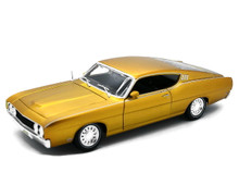 1969 Ford Torino Talladega MAISTO SPECIAL EDITION Diecast 1:18 Scale Gold