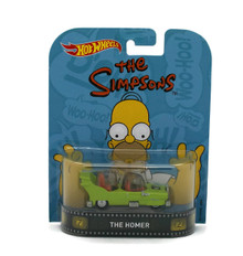 THE HOMER Car Te Simpsons HOT WHEELS Diecast 1:64 Scale FREE SHIPPMENT