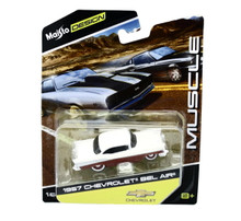 1957 Chevrolet Bel Air MAISTO MUSCLE Diecast 1:64 FREE SHIPPING