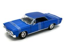1965 Pontiac GTO MAISTO SPECIAL EDITION Diecast 1:18 Scale Blue 31885