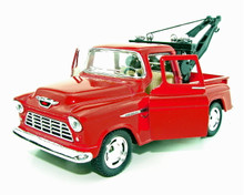 1955 Chevy 3100 Tow Truck Kinsmart Diecast 1:32 Scale Red FREE SHIPPING