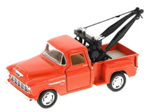 1955 Chevy 3100 Tow Truck Kinsmart Diecast 1:32 Scale Orange FREE SHIPPING