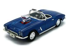 1962 Chevrolet Corvette SUNNYSIDE Diecast 1:32 Scale Blue FREE SHIPPING