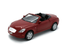 "Lexus SC430 WELLY Diecast 1:36 Scale 4.75"" Red FREE SHIPPING"