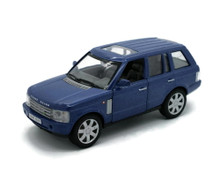 Land Rover Range Rover WELLY Diecast 1:33 Scale Blue FREE SHIPPING