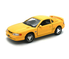 1994 Ford Mustang GT WELLY Diecast 1:32 Scale Yellow FREE SHIPPING