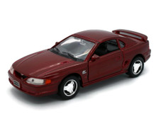 1994 Ford Mustang GT WELLY Diecast 1:32 Scale Red FREE SHIPPING
