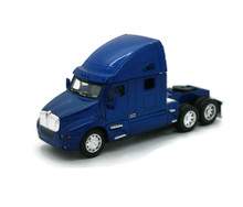 KENWORTH T2000 Cab Tractor KINSMART Diecast 1:66 Scale Blue FREE SHIPPING