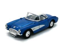 1957 Chevrolet Corvette SUNNYSIDE Diecast 1:32 Scale Blue FREE SHIPPING