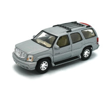 2002 Cadillac Escalade WELLY Diecast 1:38 Scale Silver FREE SHIPPING