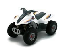 "ATV  4 Wheeler Superior / Sunnyside 5306 Diecast 5"" White FREE SHIPPING"