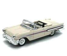 1957 Pontiac Bonneville Convertible NEWRAY Diecast 1:43 Scale Beige