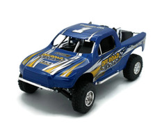 Off Road Baja Racer Truck NEWRAY Diecast 1:24 Scale Blue