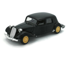 1939 Citroen 15 Six Sedan Solido DieCast 1:43 Scale Black FREE SHIPPING