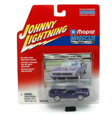 1970 Plymouth HEMI Cuda JOHNNY LIGHTNING Greatest Muscle Cars Diecast 1:64