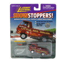 Bill Golden's Little Red Wagon JOHNNY LIGHTNING Show Stoppers Diecast 1:64