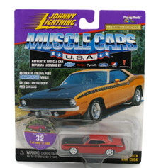 1970 Plymouth AAR CUDA JOHNNY LIGHTNING MUSCLE CARS Diecast 1:64 Scale FREE SHIPPING
