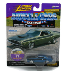 1970 Dodge Challenger JOHNNY LIGHTNING MUSCLE CARS Diecast 1:64 FREE SHIPPING