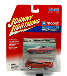 1971 Plymouth Road Runner Johnny Lightning MOPAR MUSCLE Diecast 1:65 Scale