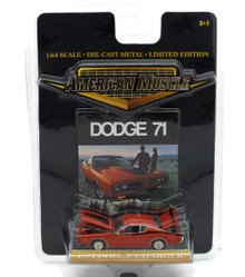1971 Dodge Charger ERTL AMERICAN MUSCLE Diecast 1:64 Scale
