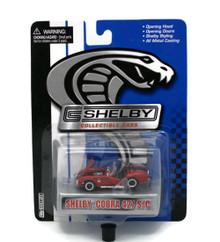 Shelby Cobra 427 SC Red SHELBY COLLECTIBLES Diecast 1:64 Scale FREE SHIPPING