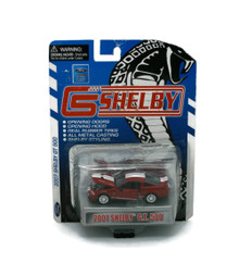 2007 Ford Shelby GT500 Red SHELBY COLLECTIBLES Diecast 1:64 Scale FREE SHIPPING