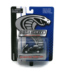 1965 Shelby Cobra Daytona Coupe Black SHELBY COLLECTIBLES Diecast 1:64 FREE SHIPPING