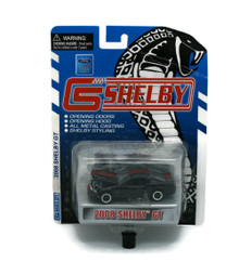 2008 Shelby GT Black SHELBY COLLECTIBLES Diecast 1:64 Scale FREE SHIPPING