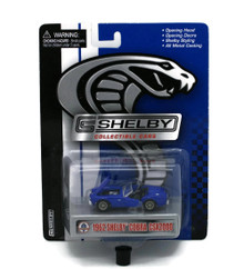 1962 Shelby Cobra CSX2000 SHELBY COLLECTIBLES Diecast 1:64 Blue FREE SHIPPING