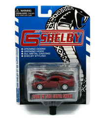 2008 Shelby GT500 Super Snake SHELBY COLLECTIBLES Diecast 1:64 Red FREE SHIPPING