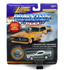 Johnny Lightning Dragsters '71 Dodge Challenger BOB BANNING FREE SHIPPING