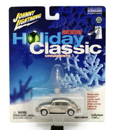 1966 VW Volkswagon Beetle Johnny Lightning HOLIDAY ORNAMENTS Diecast 1:64 FREE SHIPPING