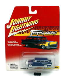 1957 Chevy Nomad JOHNNY LIGHTNING Thunder Wagons Diecast 1:64 Scale FREE SHIPPING