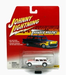 1954 Chevy Nomad JOHNNY LIGHTNING Thunder Wagons Diecast 1:64 Scale FREE SHIPPING