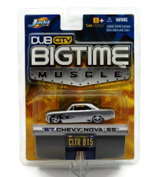 1967 Chevy Nova SS DUB CITY BIGTIME MUSCLE Diecast 1:64 Scale FREE SHIPPIING