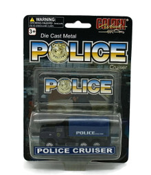 Police Special Force Truck POLICE CRUISERS Golden Wheel Diecast 1:64 Scale