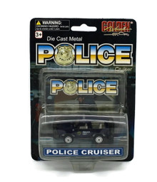 Police Special Force Pickup POLICE CRUISERS Golden Wheel Diecast 1:64 Scale