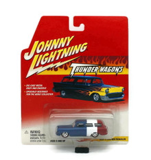 1950's Custom Rumblur JOHNNY LIGHTNING THUNDER WAGONS Diecast 1:64 FREE SHIPPING