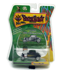 1932 Ford 3- Window Coupe SHOW RODZ Diecast 1:64 Scale Black FREE SHIPPING