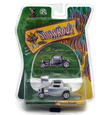 1932 Ford 3- Window Coupe SHOW RODZ Diecast 1:64 Scale White FREE SHIPPING