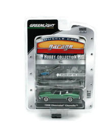 1968 Chevrolet Chevelle Greenlight Muscle Car Garage Hobby Diecast 1:64 FREE SHIP