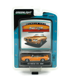 1971 Pontiac GTO Judge Greenlight Muscle Car Garage Diecast 1:64 FREE SHIPPING