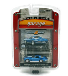1967 Chevy Corvette 427 Greenlight Muscle Car Garage Diecast 1:64 FREE SHIPPING