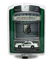 Ford Crown Victoria Police Intercepter Greenlight GL Exclusive Diecast 1:64 FREE SHIPPING