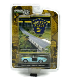 1962 Chevrolet Corvette GREENLIGHT COUNTRY ROADS Diecast 1:64 FREE SHIPPING